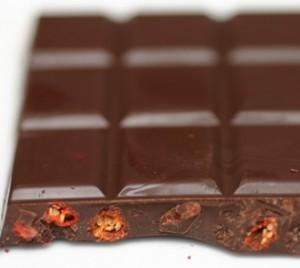 gojibessen in chocolade