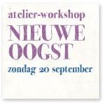 Coaching workshop Nieuwe Oogst