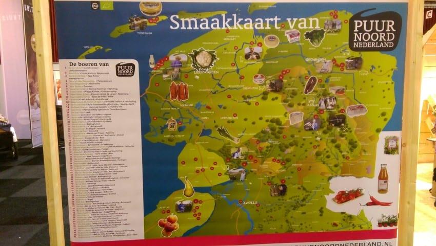 BioBeurs 2017 – Smaakkaart Puur Noord Nederland