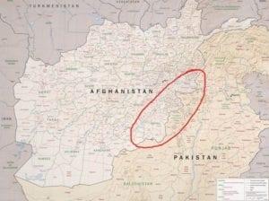 Raap - grens Afghanistan-Pakistan