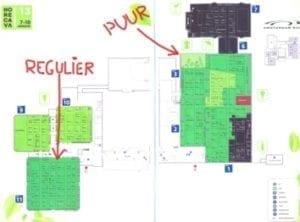Horecava 2013 plattegrond