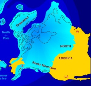 Wormen produceren broeikasgassen - ijstijd amerika