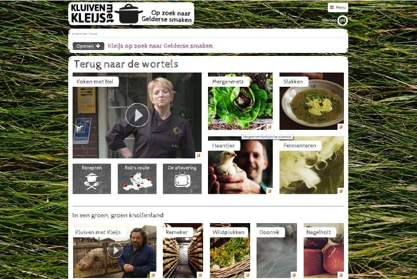 Wie on tie-vie kluiven met kleijs website
