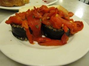 Uit eten in Spanje - Donostia - pintxo 3