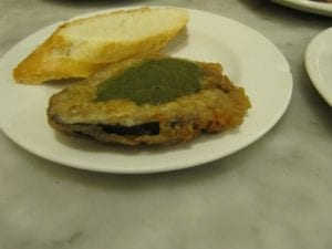 Uit eten in Spanje - Donostia - pintxo 4